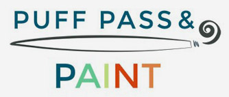 Puff, Pass and Paint logo