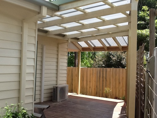 Verandah Pergola Timber Decking Now
