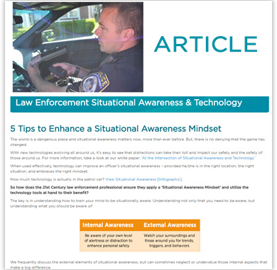 5 Tips to Enhance a Situational Awareness Mindset